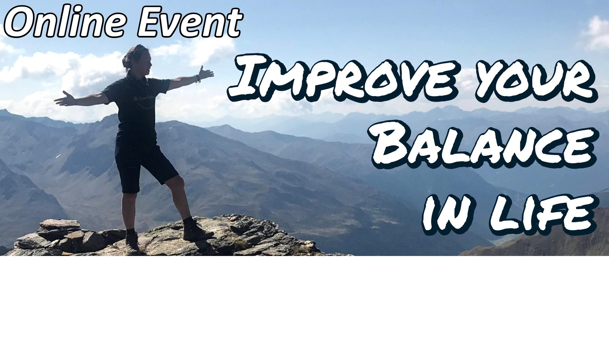 Improve your balance in life